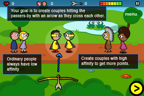 Screenshot Cupid at work lite – Valentine's day game